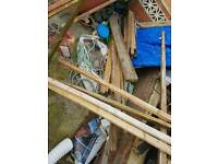 Various battens etc of wood for sale