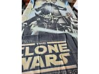 Star wars double sided quilt cover