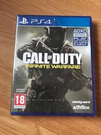 call of duty infinite warfare (brand new & sealed) , ps4 ! price stands , no offers !