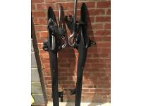 Mont Blanc barracuda roof mounted cycle carrier x 2