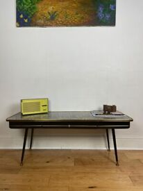 Mid-Century Modern Long Coffee Table with Formica Top FREE LOCAL DELIVERY