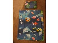 Toddler duvet & pillow case x2