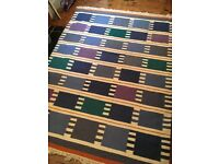 Colourful rug. Great condition - recently professionally cleaned.