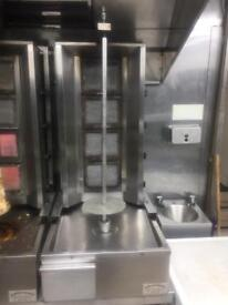 Donner shawarma kebab machine for sale