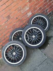 "18"" alloy wheels univeral"