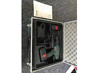 Bosch X-Cell PSB 18 Drill + Case, 2 batteries and charger
