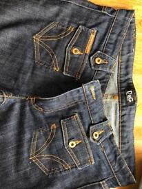 Genuine D&G jeans ladies European 42