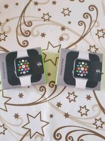 Charger wallet for Apple watch