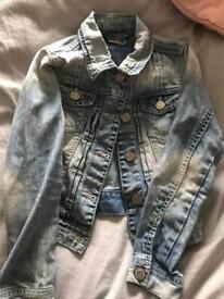 Age 6 denim jacket from next