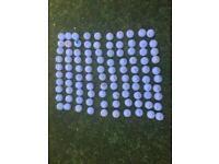 100 golf balls callaway Dunlop srixon titlest top flite Nike - Taylor made
