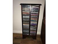 Mahogany cd storage unit