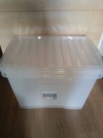 Newly 2x Storage boxes to sale