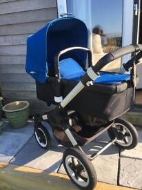 Bugaboo Buffalo Pushchair/Pram with extras