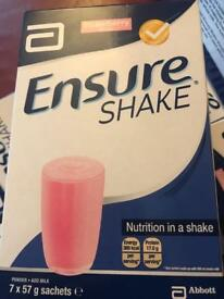 Ensure protein shake