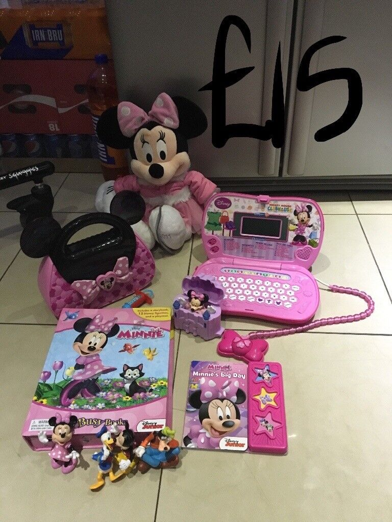 Various toy bundles 9 in total prices on pics