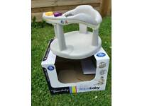 Baby bundle - bath seat, top & tail and car mirror