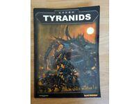 Codex Tyranids - Warhammer Book in Mint Condition