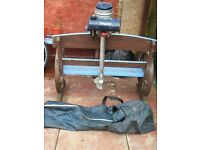 BRITISH SEAGULL 40 SHORT SHAFT OUTBOARD BOAT ENGINE WITH CARRY BAG WORKS GREAT CB5 £150