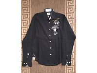 La Martina Buenos Aires Men Polo Shirt Size M / 39-40 Black