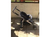 Silver cross 3D Pram system with car seat and multiple accessories