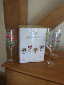 Beautiful Portmeirion Botanic Garden Glasses (8)