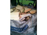 Hardwood ash logs dumpy bag delivered £45