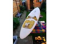 BIC ELECTRIC ROCK. Windsurfing board freebie.