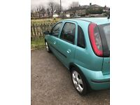 FOR SALE VAUXHALL CORSA 1.2L PETROL