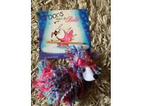 Dogs don't do ballet book and puppet