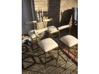 Art Deco type chairs/barstools