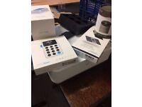 Mpop all in one receipt printer & cash drawer, izettle card machine docking station & ipad holder