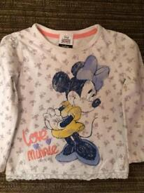 Minnie Mouse Top 1.5 - 2 years