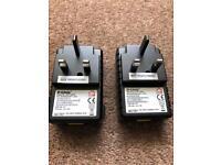PAIR/2TalkTalk D-Link DHP-300AV Power line Adaptors/Description (NEW).