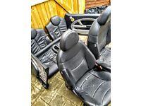 Mini R53 grey leather interior