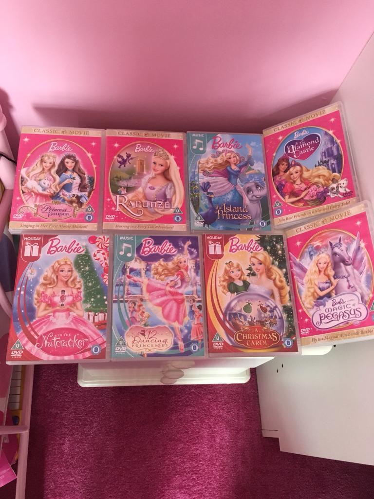 Brand new barbie dvds