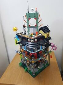 LEGO NINJAGO City 70620 - 100% Complete including minifigs, box and instructions