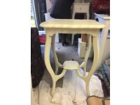 nice small table in cream