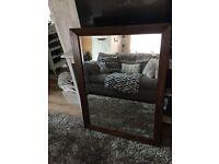 Large mirror barker & stonehouse