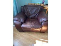 FREE 3 seater sofa. 2 chairs