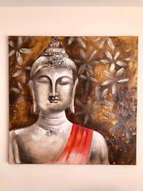 Buddha Painting 1m x 1m