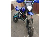 Rod legal 125 pitbike