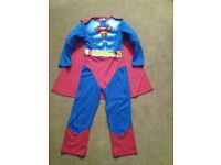 Kids Superman Costume Aged 5-6