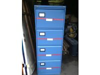 triumph blue filing cabinet 4 drawer choice off 2