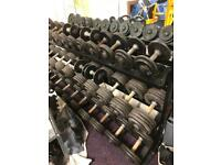 Iron Dumbbell set with Iron stand with Bench