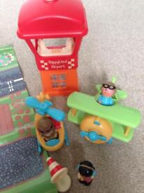 Happyland Early Learning Centre airport set