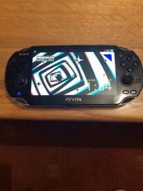 128gb ps vita console with 1000s of games
