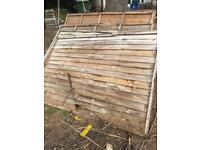 Free 4ft fence panels