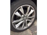 Audi alloys