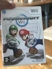 Wii mario karts game