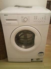 Beko 6kg white washing machine